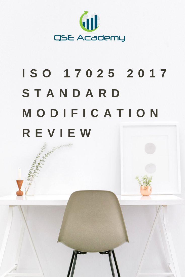 ISO 17025 2017 Standard Modification Review | ISO 17025