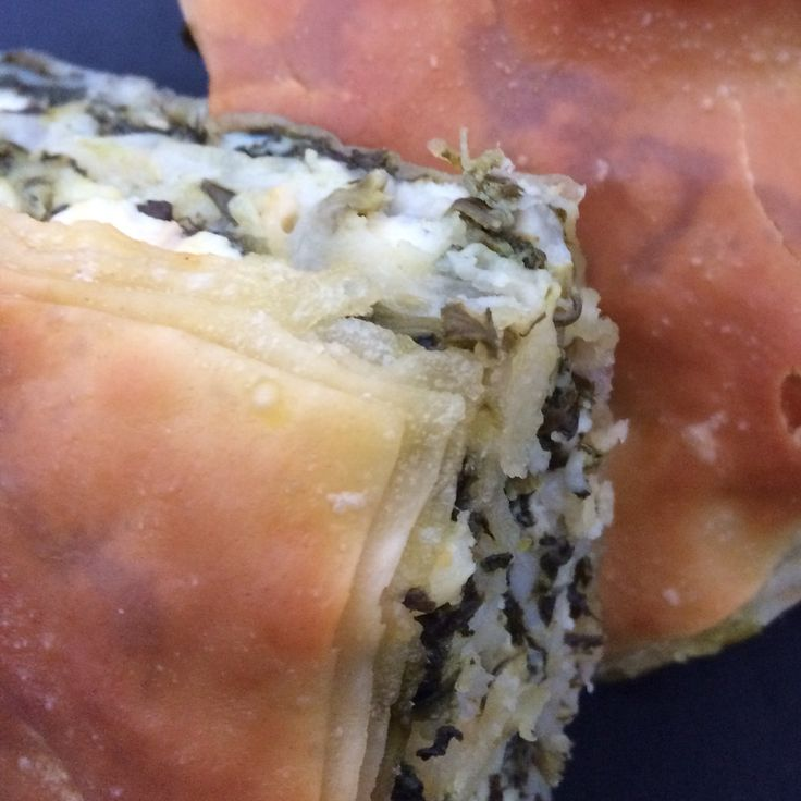 Spinach pie, greece