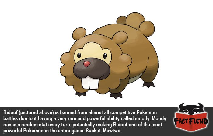 The Most Powerful Pokémon Doesn't Look Like You'd Expect it to - http://www.factfiend.com/powerful-pokemon-doesnt-look-like-youd-expect/ - #Banned, #Bidoof, #Pokemon
