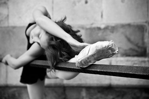passion for worn our pointes