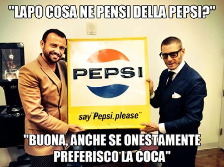 Lapo cosa ne pensi della Pepsi