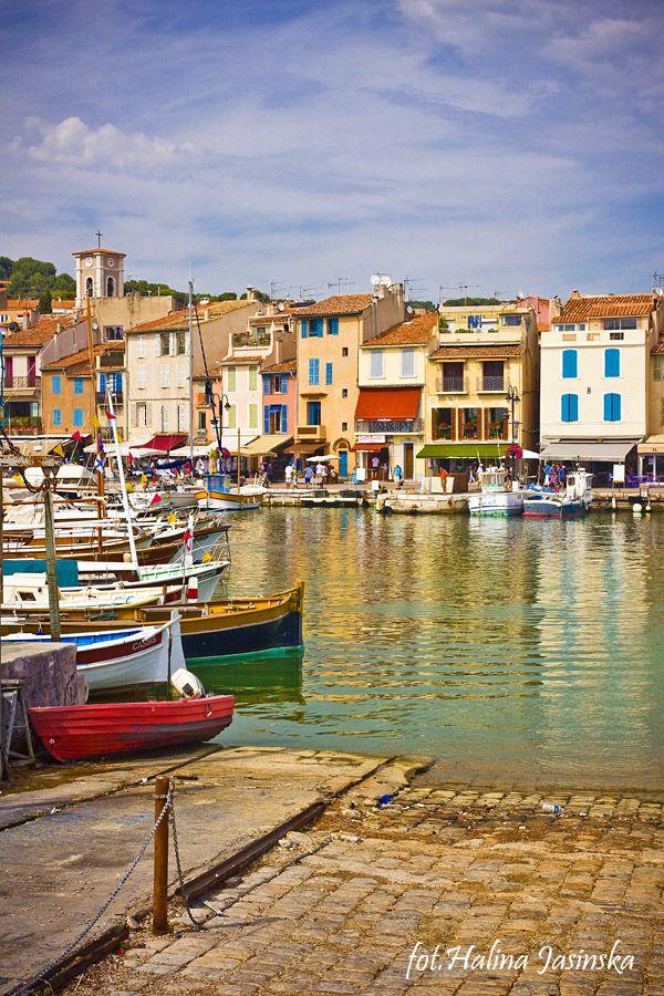Cassis, Côte d'Azur, France.