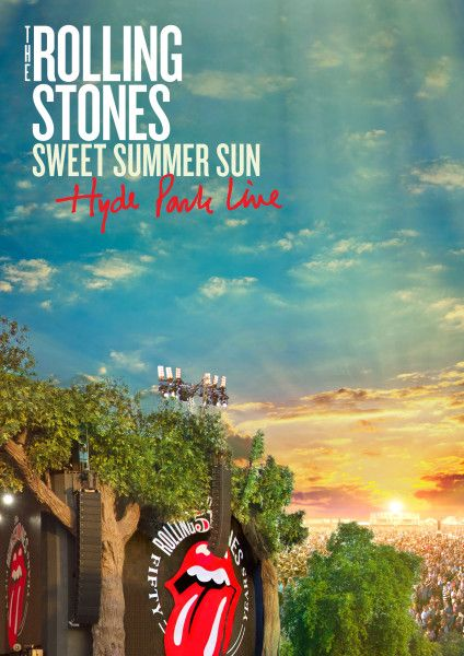 The Rolling Stones 'Sweet Summer Sun - Hyde Park Live' to be released on mult-formats Nov 12