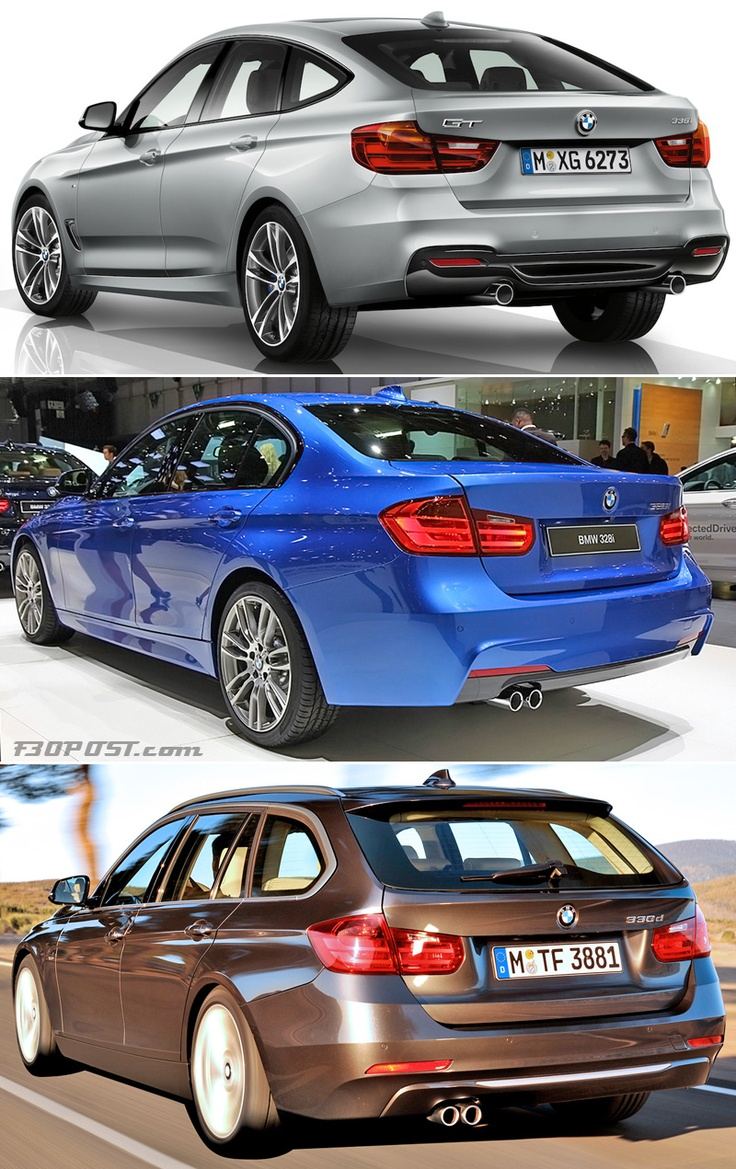 bmw 3 series gt vs sedan vs touring visual comparison 3. Black Bedroom Furniture Sets. Home Design Ideas
