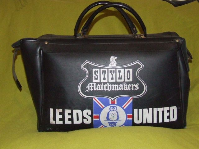 Leeds United Players Stylo Kit Bag 1970s