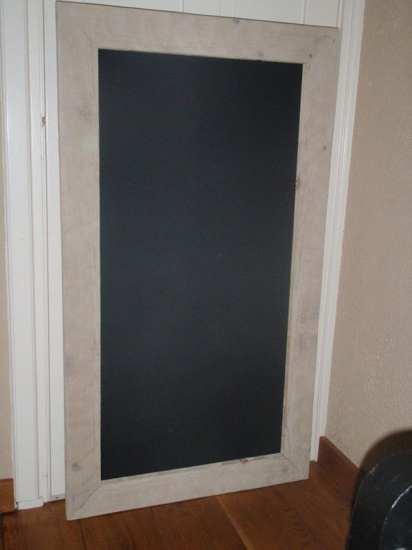 Krijtbord rechthoek 75x134cm