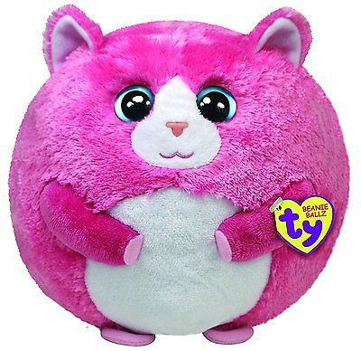 Other Ty Beanbag Plush 1037: Ty Beanie Ballz Tumbles The Pink Cat Middle -> BUY IT NOW ONLY: $32.74 on eBay!