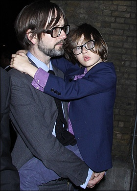 Jarvis Cocker and his son... so adorable!