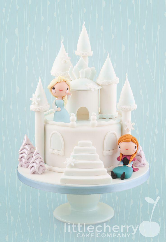 Elsa Castle Cake Decoration : Best 25+ Frozen castle cake ideas on Pinterest Frozen ...