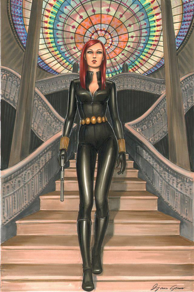 204 Best Black Widow  Natasha Romanov Images On -5869