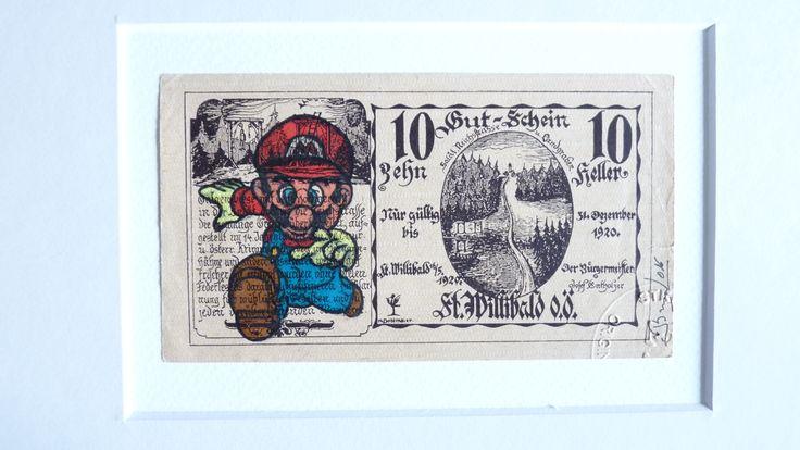 Quand Mario s'invite dans l'art. #kazoart