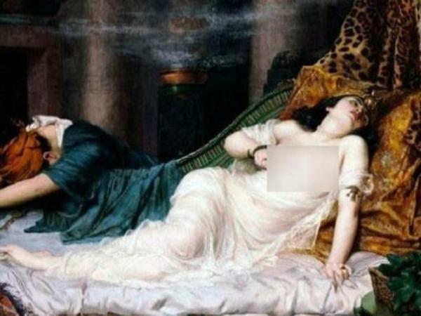 Benarkah Ratu Mesir Kuno Cleopatra Dibunuh Ular Kobra?