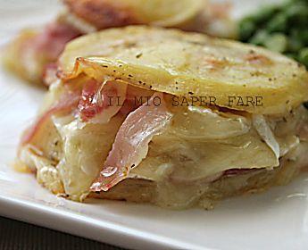 Patate ripiene di prosciutto e mozzarella
