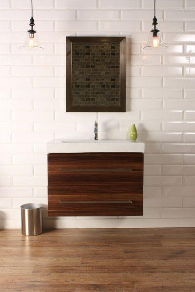 Naos 32 Walnut Modern Wall Mount Bathroom Vanity The Vanity Store Canada 32 1 Modern