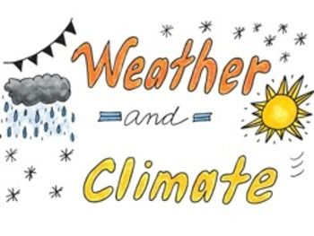 Weather and Climate Powerpoint FREE by Science Doodles