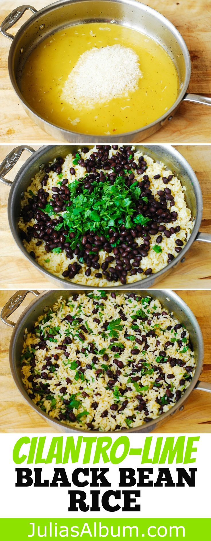 Cilantro-Lime Black Bean Rice