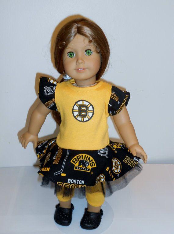 Boston Bruins Game Day by DollFashionsbyLinda on Etsy