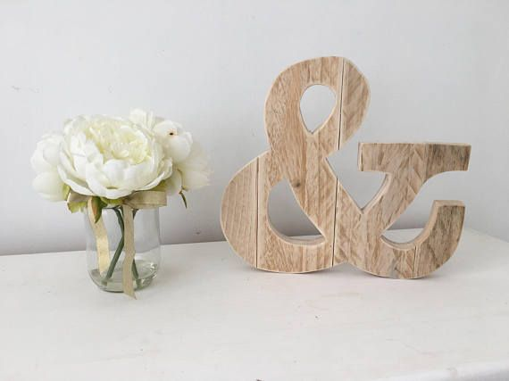 Hey, I found this really awesome Etsy listing at https://www.etsy.com/listing/519380864/wooden-ampersand-sign-free-standing