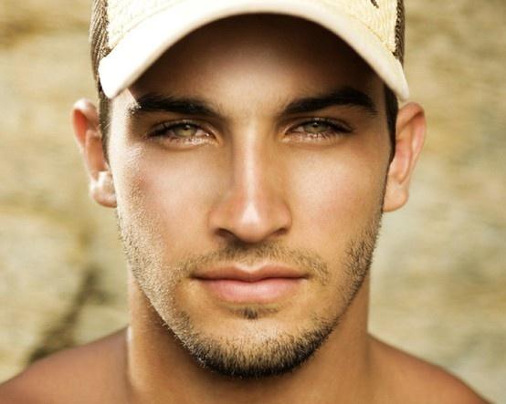 Handsome with Hazel eyes