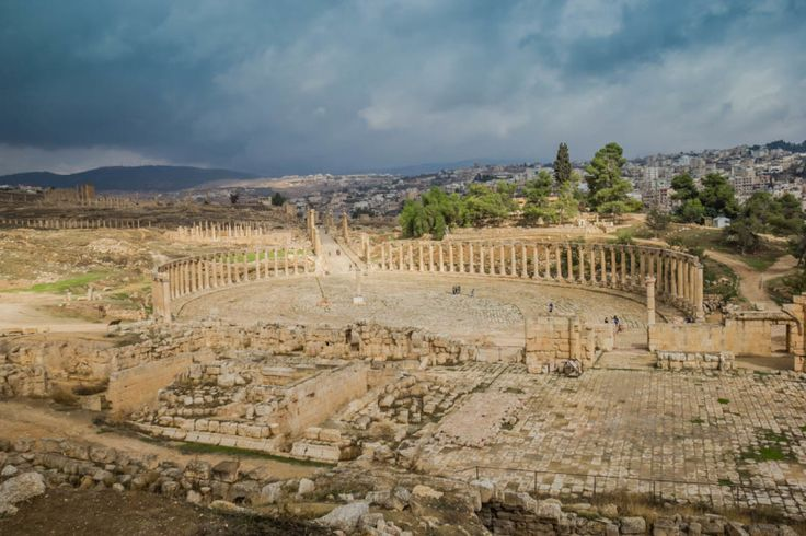 Jerash Is Jordan Safe. Ancient Roman City of Jerash. Read the full blog post.