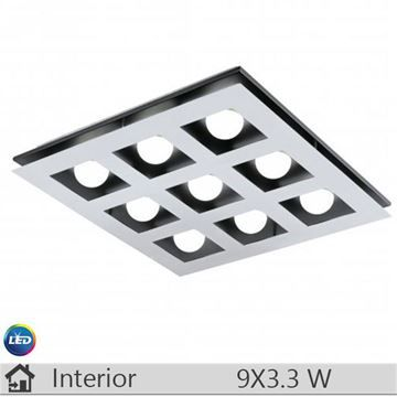 Plafoniera LED iluminat decorativ interior Eglo, gama Bellamonte, model 94234