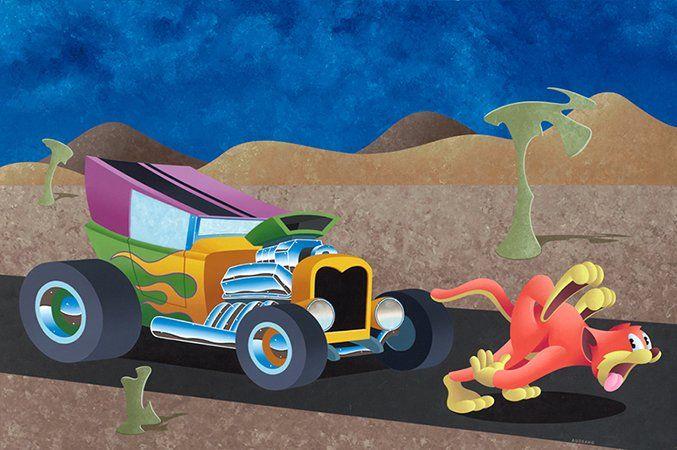 "ANTHONY AUSGANG ""Are We There Yet"" 2013Acrylic on Canvas 30 x 45 inch. #arcadeartgallery #arcadeartgallery#anthonyausgang #mgmt #popsurrealism #lowbrowart #lowbrow #kustomkulture#juxtapozmag #mgmt #fishbone#greenday #artillerymagazine#highfructosemag #artstagram #artist#artistsoninstagram #art #beautiful #instaart #instaartsy #instaartwork #instaartist #instaartpop #instaarthub #instaartoftheday #instaarte #instaarts #instaartistic #art #artwork #artist #artshow #artgallery"