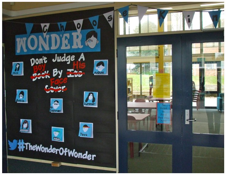Wonder Bulletin Board idea