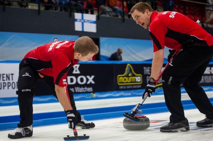 Le Gruyère European Curling Championships 2014 - ECC 2014 Day 3 Men