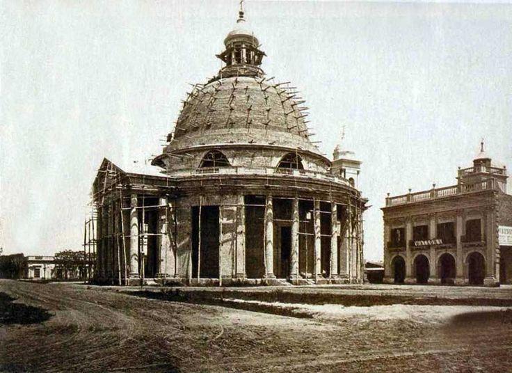 1875. La iglesia Redonda de Belgrano
