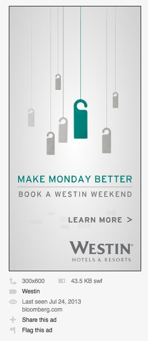 Book a Westin weekend ;)