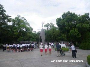 Hiroshima, Mémorial de la paix