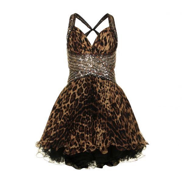 Animal Print Prom Dress