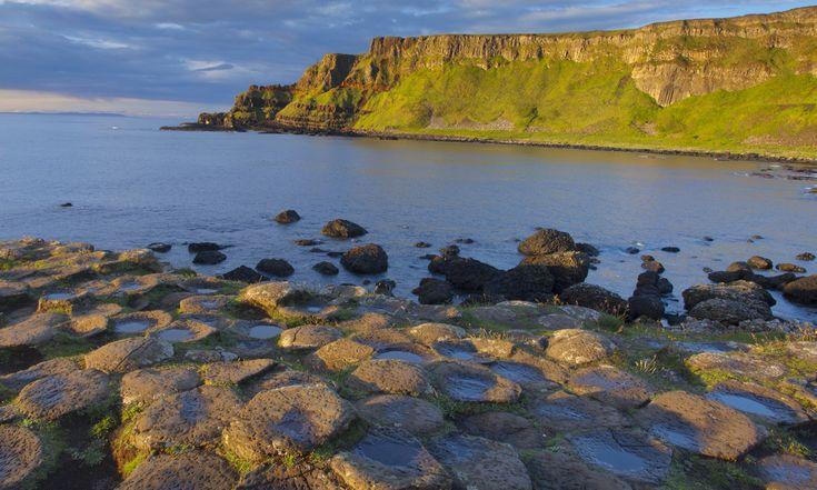 Sprookjesachtig landschap van Noord-Ierland