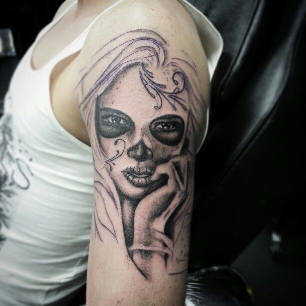 Muerto / day of the dead lady