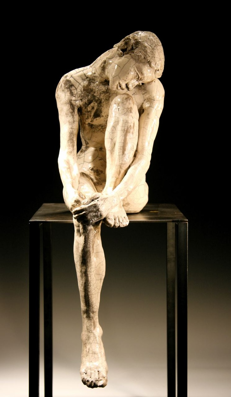Bob Clyatt - Untitled, 2010,  Raku-fired ceramic