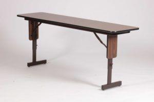 Folding Tables Adjustable Height Legs