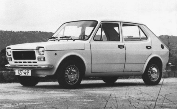 Seat 127 4 puertas - 1973