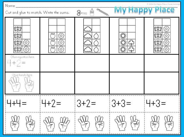 ten frames addition worksheets google search classroom ideas teaching math kindergarten. Black Bedroom Furniture Sets. Home Design Ideas