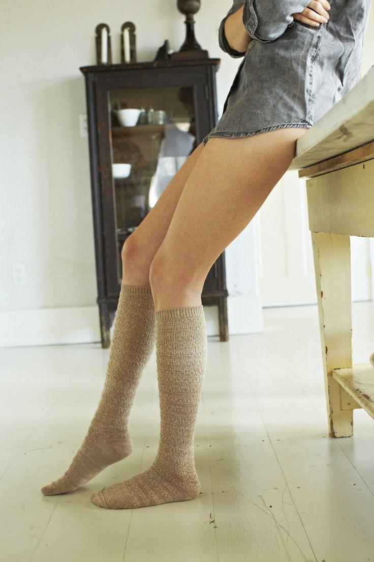 I love knee socks :)