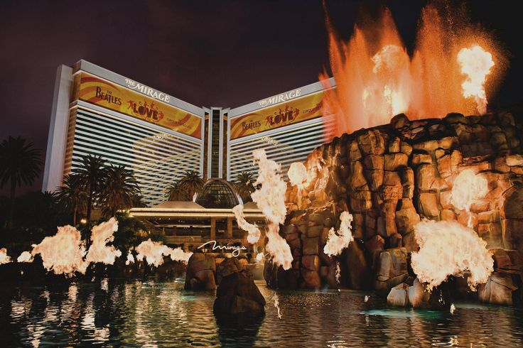 The Mirage; Las Vegas Stayed here once or twice...can't remember; loved The Tiger Garden!