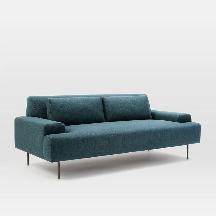 Beckham Sofa (194 Cm)  in Blue Teal, $1,399.00, West Elm