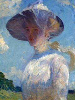 Farnsworth Art Museum | Celebrating Maine's Role in American Art  Rockland, MaineImpressionist Painters, Weston Benson, Art Museums, Frank Weston, American Impressionist, Artists Benson, Frank Wbensonamerart, Young Girls, Frank Benson