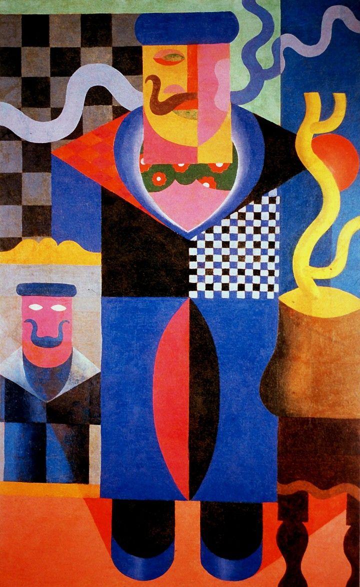 Filippo Tommaso Marinetti (Founder of Futurism - Art Movement)