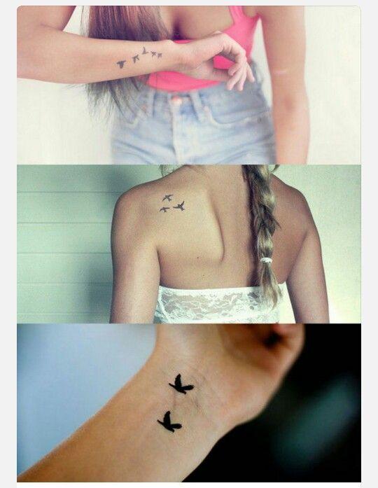 Where To Put A Tattoo Birds Svalor Tattoos Tattoos Small