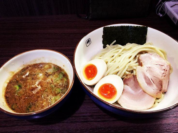 #つけ麺 #麺や輝 by toshiki_tanaka