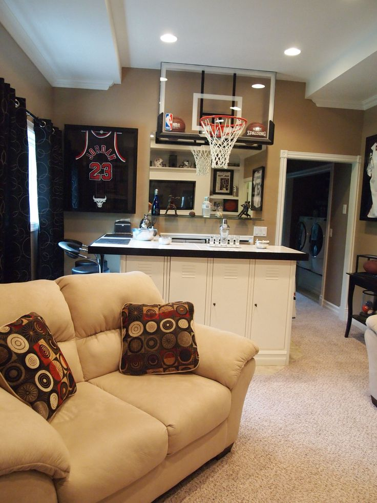Best 20 Basketball man cave ideas on Pinterest Indoor