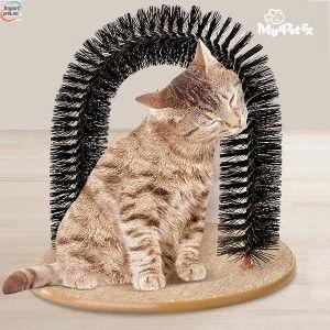 My Pet katte massasje og børste stativ