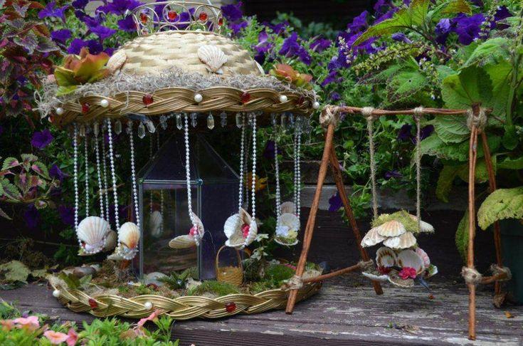Fairy Garden Ideas: A pearly delight diy fairy garden # ...