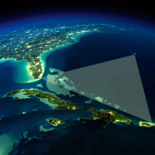 a mysterious triangle the bermuda triangle The bermuda triangle — a region in north atlantic ocean — is notorious for  ships and aircraft disappearing under mysterious circumstances.