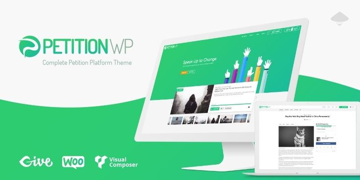 Petition WP - Wordpress Petition Platform Theme